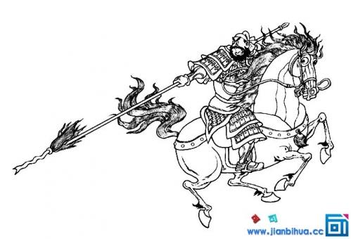 首页 娱乐八卦 > 正文   三国人物张飞简笔画图片,张飞骑着大马,拿着