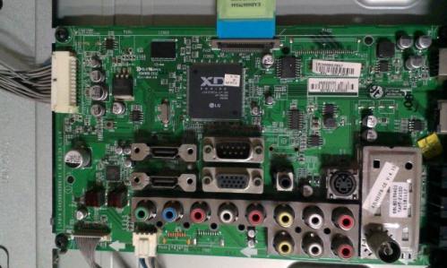 液晶主板不开机 lg液晶电视反复黑屏,不能开机,按键失效故障解决