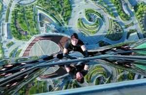 碟中谍4里把墙 克鲁斯拍《碟中谍4》爬全球第一高楼