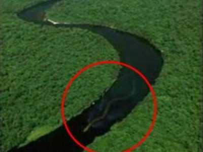 马来西亚流经河流 马来西亚河流现不明物疑似30米长巨蛇