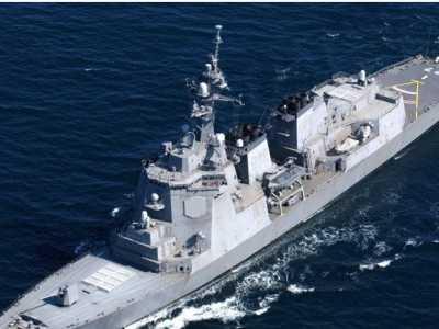 中日军舰对比 中日韩三国顶级驱逐舰战力对比