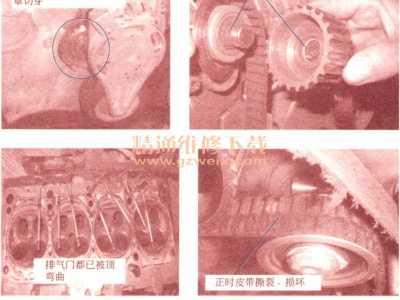 奥迪a6水泵位置示意图 奥迪A6水泵齿轮脱落、发动机内部机械损坏