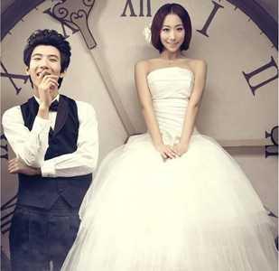 韩式唯美婚纱照 浪漫唯美韩式婚纱照经典美姿技巧