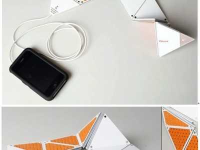 折叠音箱 可以装进口袋的折叠式平板音箱