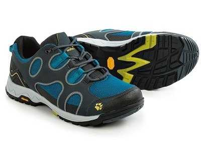 哥伦比亚和狼爪徒步鞋 Jack Wolfskin狼爪Crosswind男士VIBRAM底登山徒步鞋
