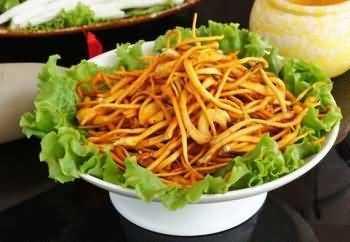 草菇的营养价值 虫草菇的家常做法