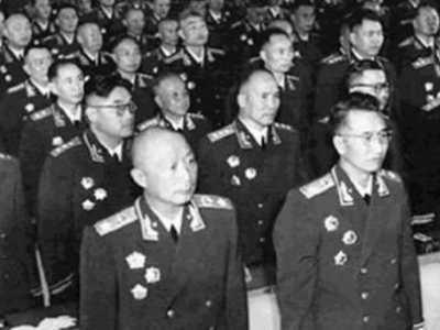 王平上将 新中国的十大上将都有谁