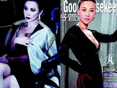 田震那英 刘嘉玲和那英图片对比看起来很像